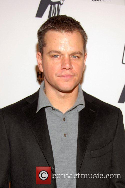 Matt Damon  Premiere screening of 'The People...