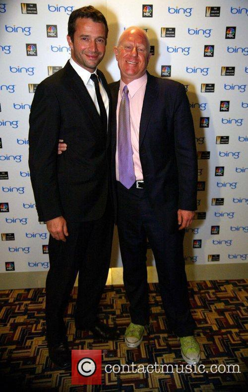 James Purefoy and Bob Sager Washington premiere of...