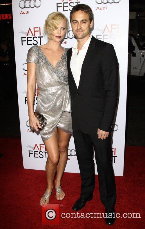 Charlize Theron, Afi and Stuart Townsend 11