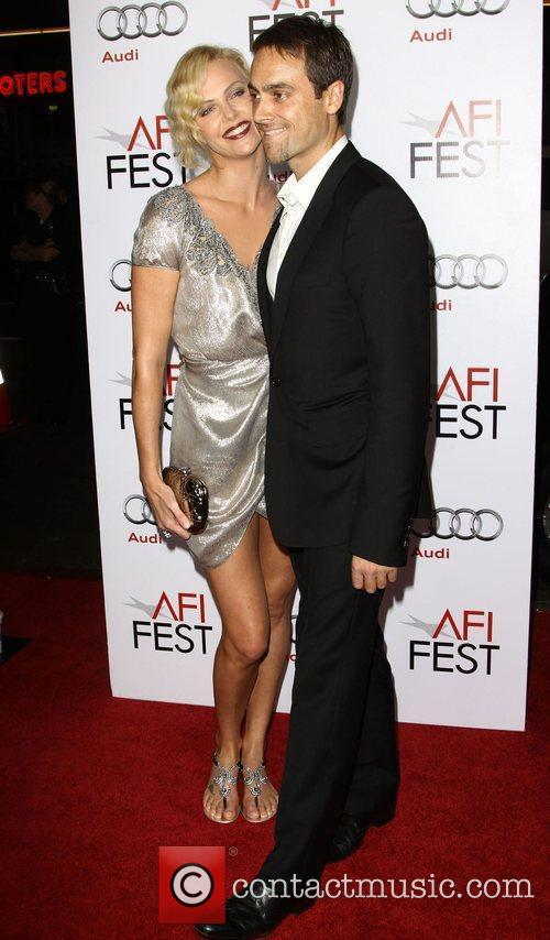 Charlize Theron, Afi and Stuart Townsend 9