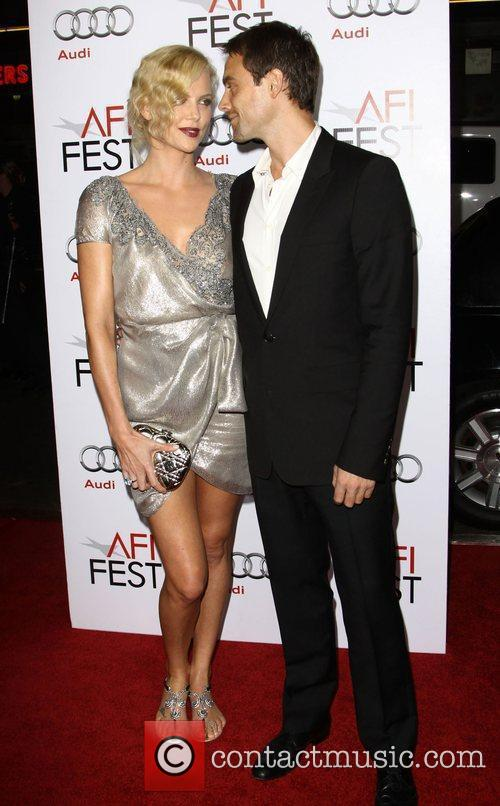 Charlize Theron, Afi and Stuart Townsend 4