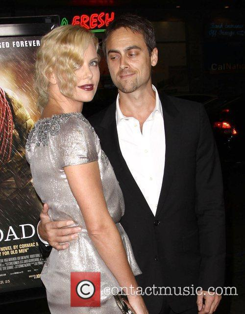 Charlize Theron, Afi and Stuart Townsend 8