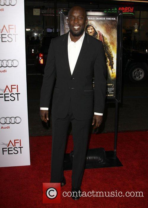 Michael K. Williams and Afi 2
