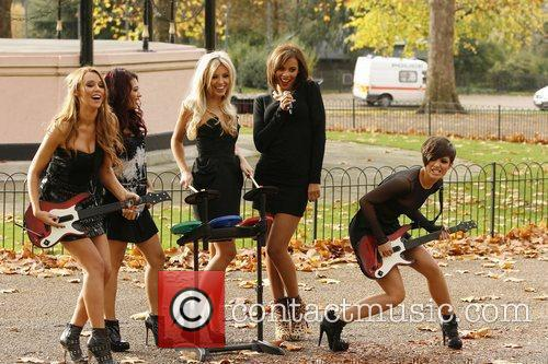 Una Healy, Vanessa White, Mollie King, Rochelle Wiseman and Frankie Sandford 6