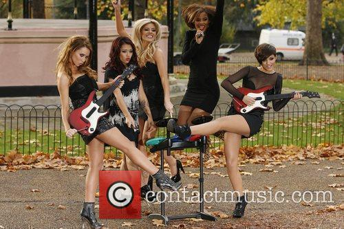 Una Healy, Vanessa White, Mollie King, Rochelle Wiseman and Frankie Sandford 7