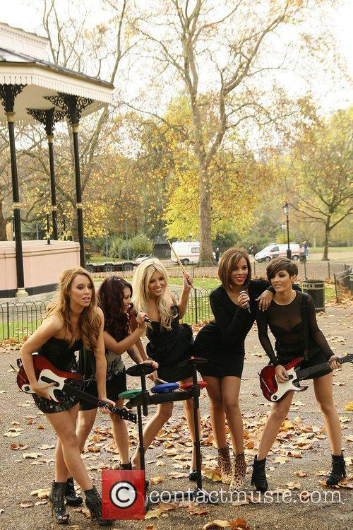Una Healy, Vanessa White, Mollie King, Rochelle Wiseman and Frankie Sandford 3