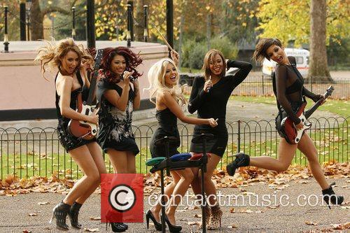 Una Healy, Vanessa White, Mollie King, Rochelle Wiseman and Frankie Sandford 4