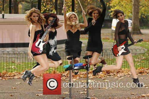 Una Healy, Vanessa White, Mollie King, Rochelle Wiseman and Frankie Sandford 5
