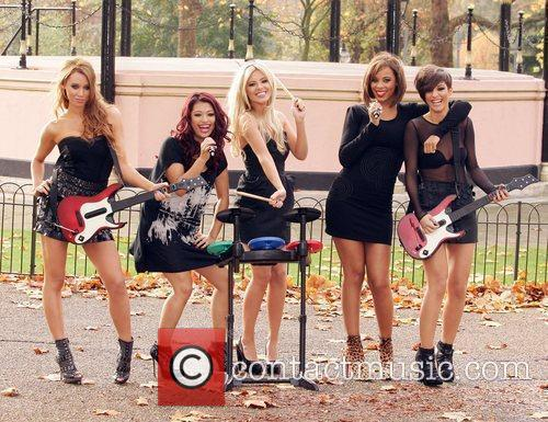 Una Healy, Vanessa White, Mollie King, Rochelle Wiseman and Frankie Sandford 1