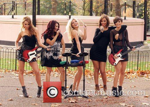 Una Healy, Vanessa White, Mollie King, Rochelle Wiseman and Frankie Sandford 28