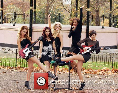 Una Healy, Vanessa White, Mollie King, Rochelle Wiseman and Frankie Sandford 26