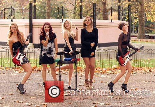 Una Healy, Vanessa White, Mollie King, Rochelle Wiseman and Frankie Sandford 25