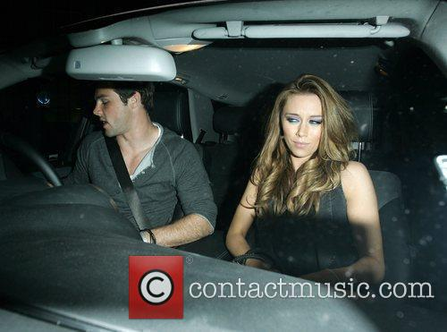 Una Healy and boyfriend Ben Foden leave the...