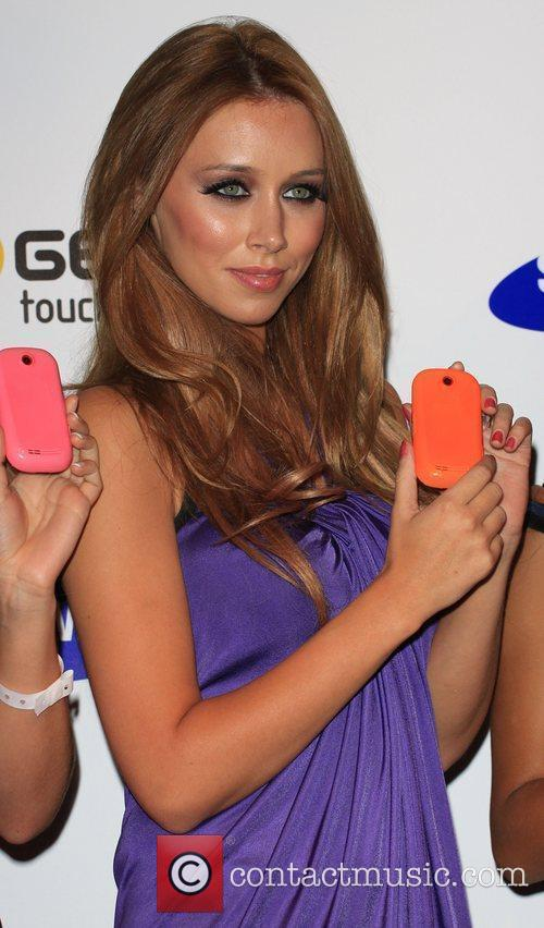 Una Healy The Saturdays celebrate the launch of...