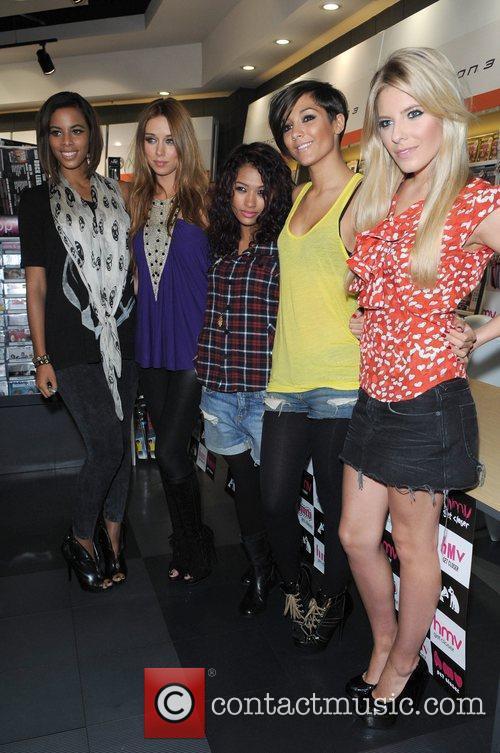 The Saturdays - Rochelle, Una, Frankie, Vanessa, Mollie...