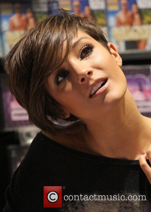 The Saturdays - Frankie signing copies of their...