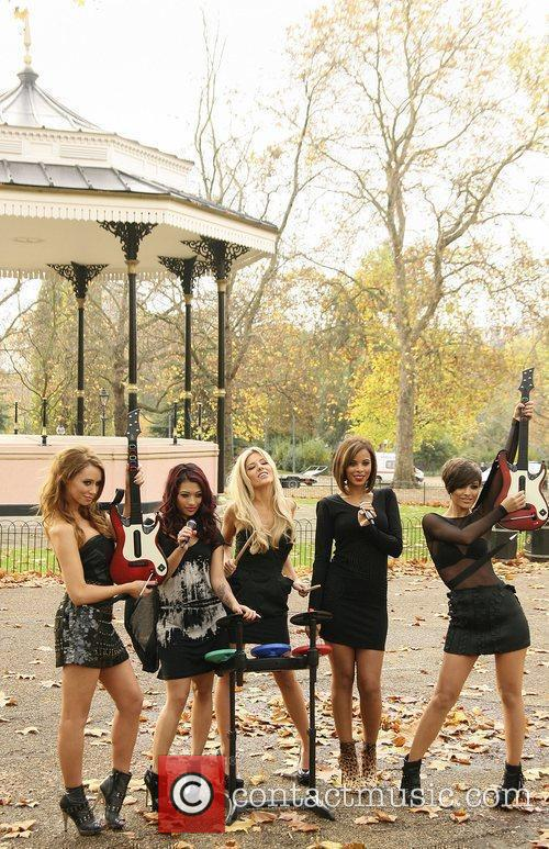 Una Healy, Vanessa White, Mollie King, Rochelle Wiseman and Frankie Sandford 9