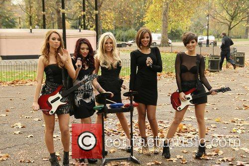 Una Healy, Vanessa White, Mollie King, Rochelle Wiseman and Frankie Sandford 10