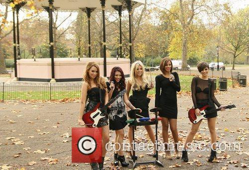 Una Healy, Vanessa White, Mollie King, Rochelle Wiseman and Frankie Sandford 8