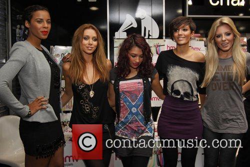 The Saturdays - Rochelle, Una, Vanessa, Frankie, Mollie...