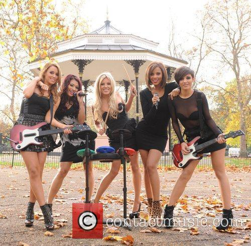 Una Healy, Vanessa White, Mollie King, Rochelle Wiseman and Frankie Sandford 20
