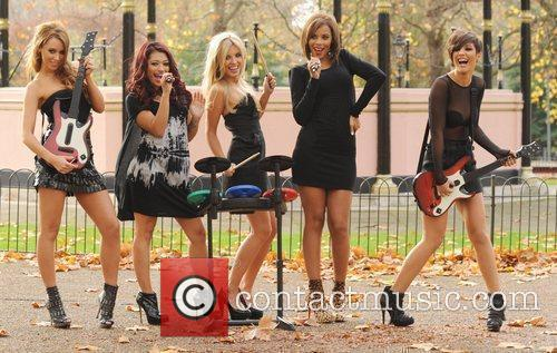 Una Healy, Vanessa White, Mollie King, Rochelle Wiseman and Frankie Sandford 14