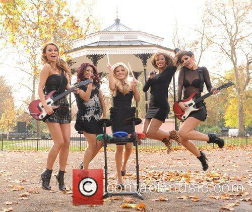 Una Healy, Vanessa White, Mollie King, Rochelle Wiseman and Frankie Sandford 24