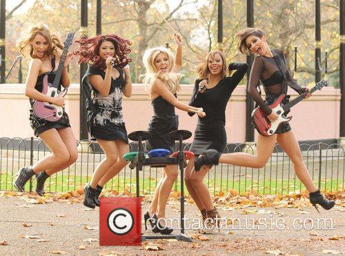 Una Healy, Vanessa White, Mollie King, Rochelle Wiseman and Frankie Sandford 17