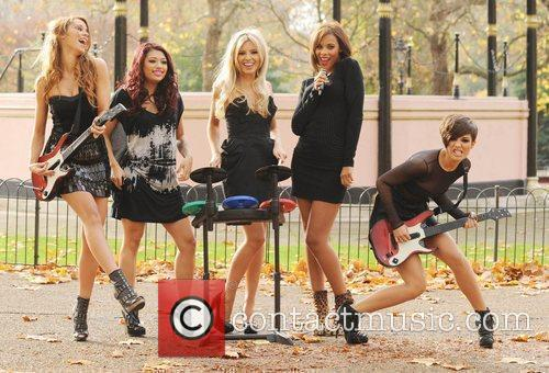 Una Healy, Vanessa White, Mollie King, Rochelle Wiseman and Frankie Sandford 13