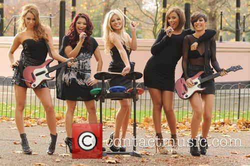 Una Healy, Vanessa White, Mollie King, Rochelle Wiseman and Frankie Sandford 18