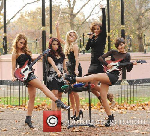 Una Healy, Vanessa White, Mollie King, Rochelle Wiseman and Frankie Sandford 23