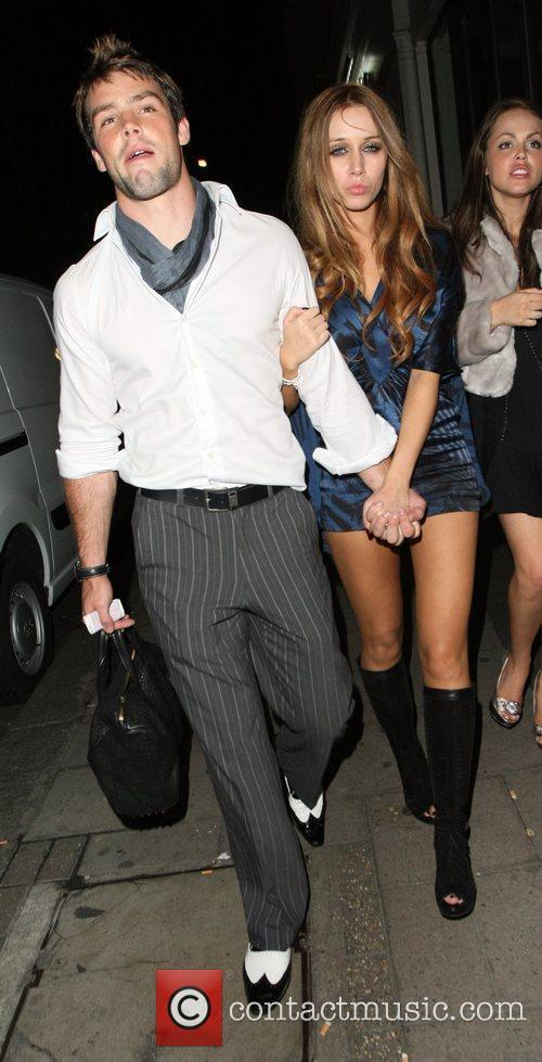 Una Healy and boyfriend Ben Foden leave 24...