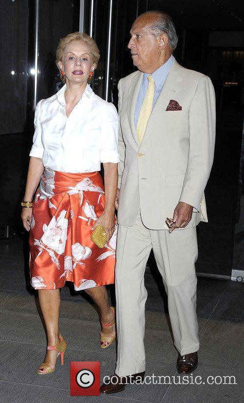 Carolina Herrera and Oscar De La Renta 1
