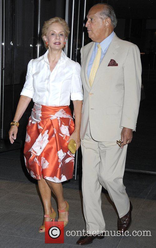 Carolina Herrera and Oscar De La Renta 2