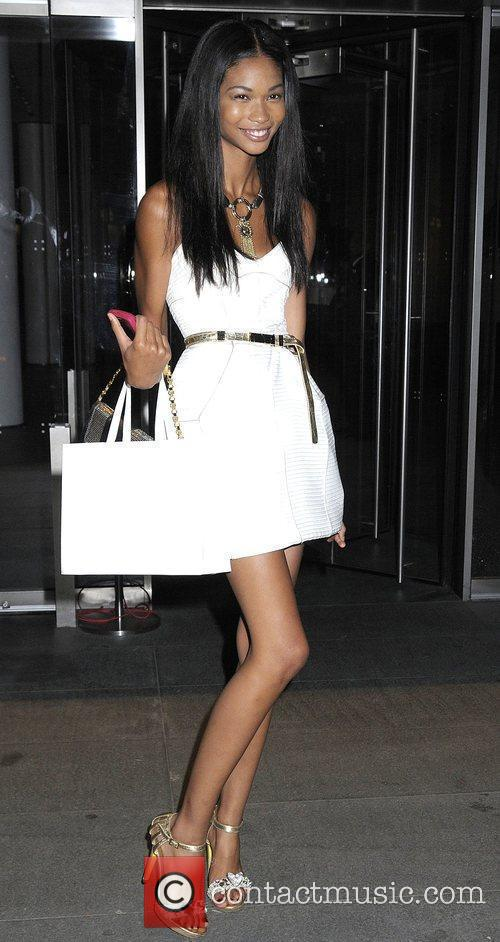 Chanel Iman Premiere of 'The September Issue' at...