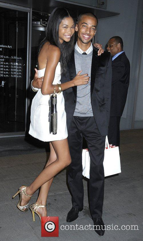 Chanel Iman and guest Premiere of 'The September...