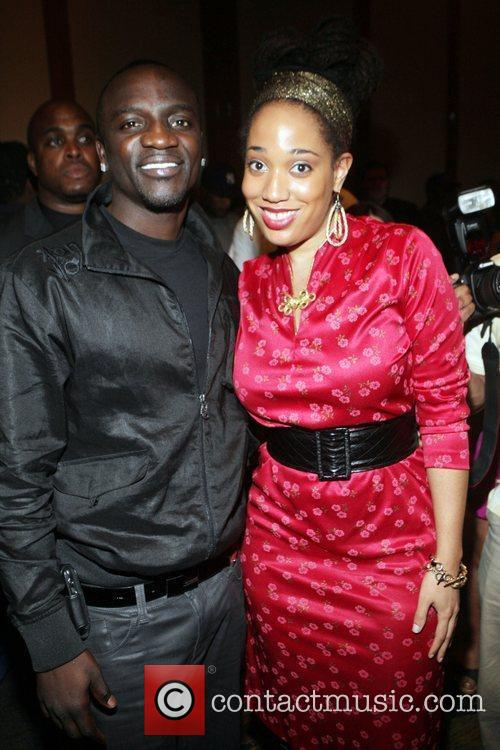 Akon and Margeaux Watson 'The Ultimate Prom' presented...