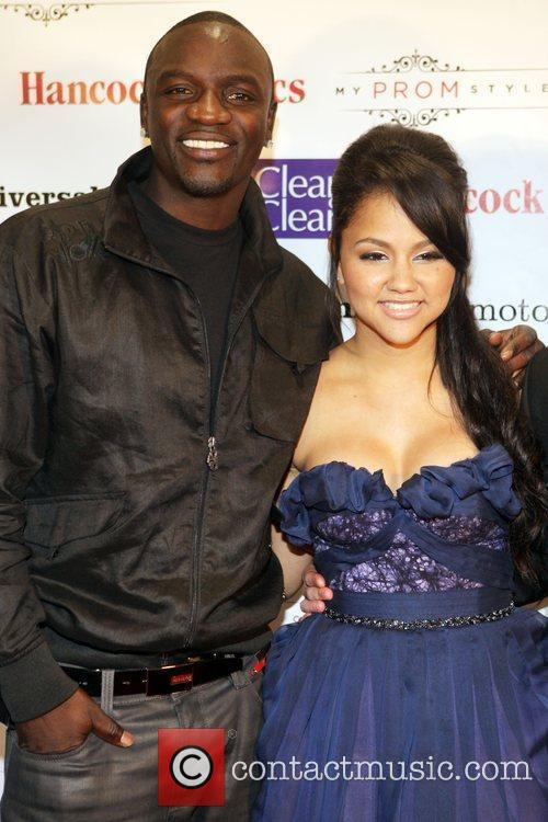 Akon and Kat DeLuna 'The Ultimate Prom' presented...