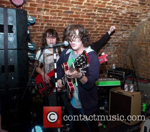 The View Performing At A Secret Gig Held At Bad Format 9