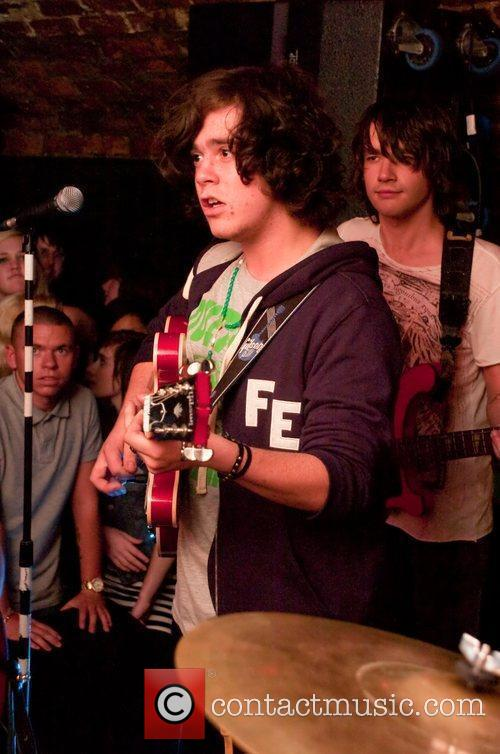 The View Performing At A Secret Gig Held At Bad Format 8
