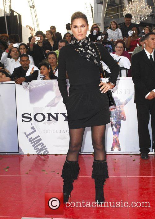 Daisy Fuentes Michael Jackson's 'This Is It' Premiere...