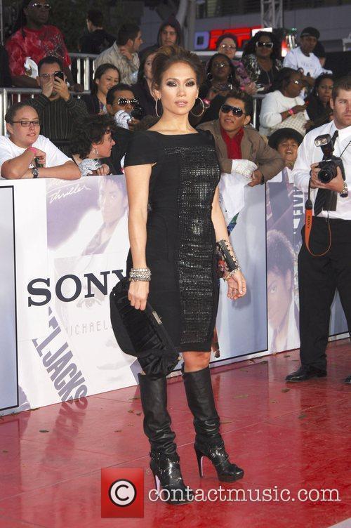 Jennifer Lopez Michael Jackson's 'This Is It' Premiere...