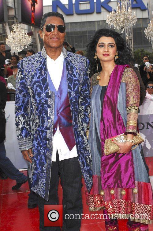 Jermaine Jackson and His Wife Halima Rashid 3