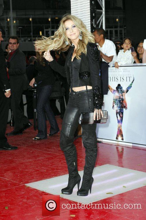 Julianne Hough Michael Jackson's 'This Is It' Premiere...