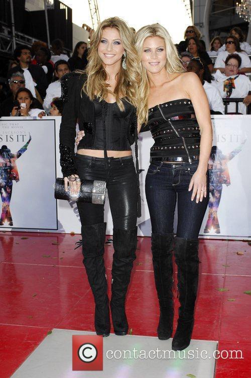 Julianne Hough and her sister Marabeth Hough Michael...