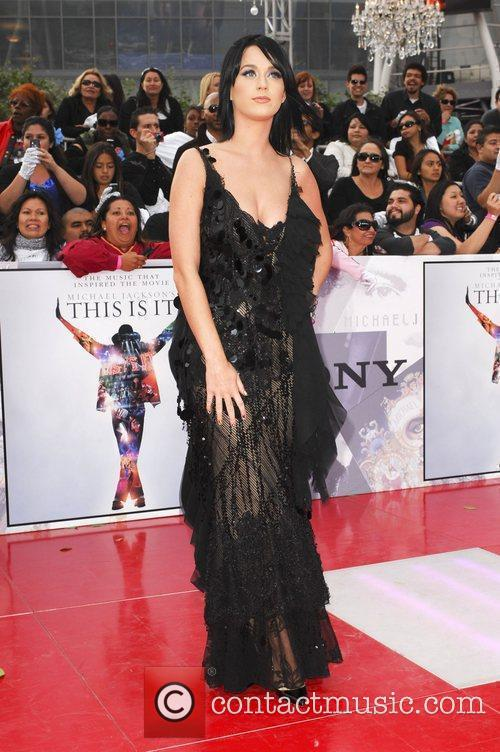 Katy Perry Michael Jackson's 'This Is It' Premiere...