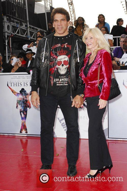 Lou Ferrigno and his wife Carla Ferrigno Michael...