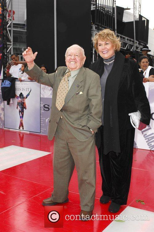 Mickey Rooney and Jan Rooney