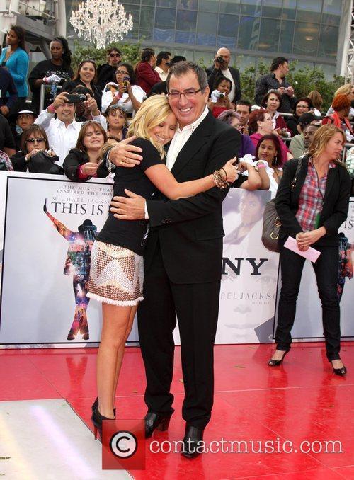Ashley Tisdale & Kenny Ortega  Michael Jackson's...