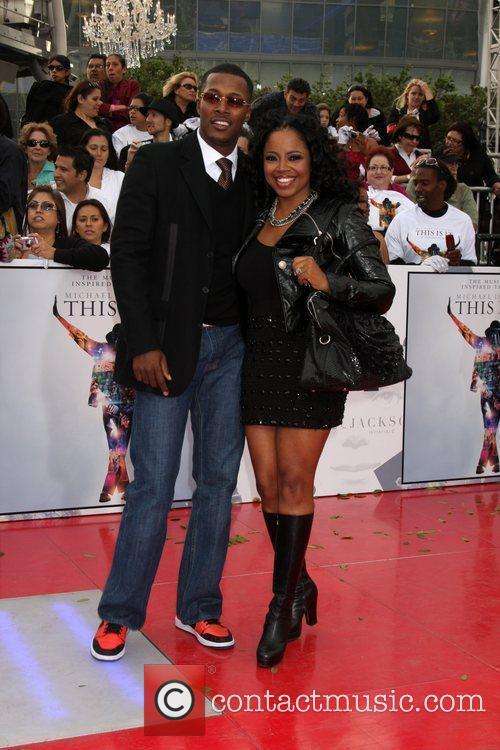 Flex Alexander and Shanice Wilson